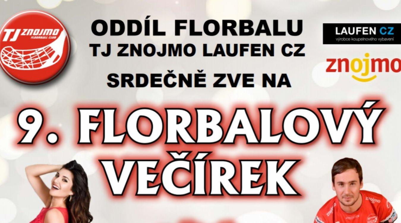 V lednu se můžete těšit na 9. Florbalový večírek oddílu TJ Znojmo LAUFEN CZ