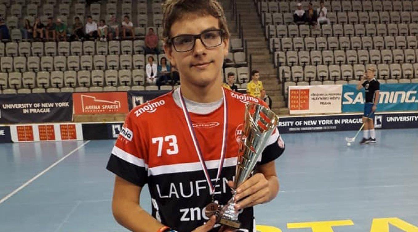 Elitní střelec mládeže Tadeáš Hoch: Střelbu zlepšuji hlavně na ranních trénincích