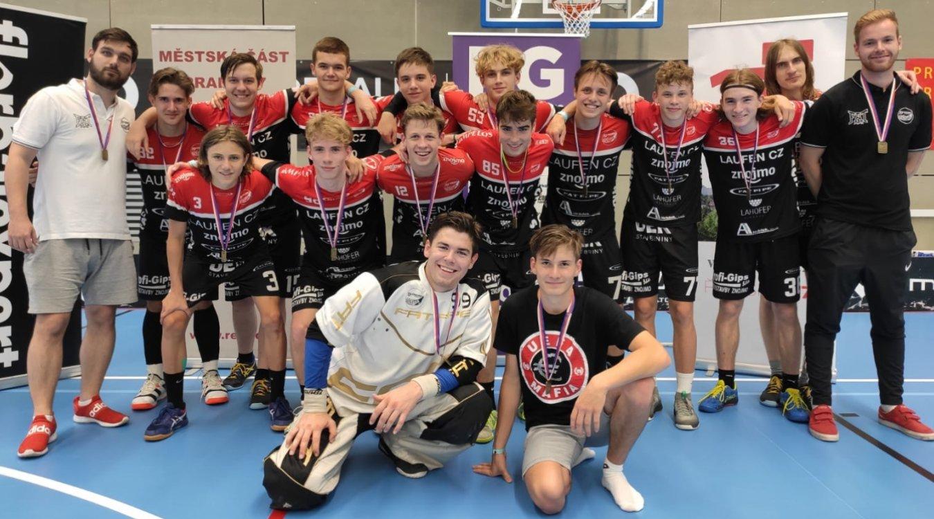 Byť z Play-Off B, tak přeci jen! TJ Znojmo LAUFEN CZ dovezlo z Prague Games dvě zlaté medaile!