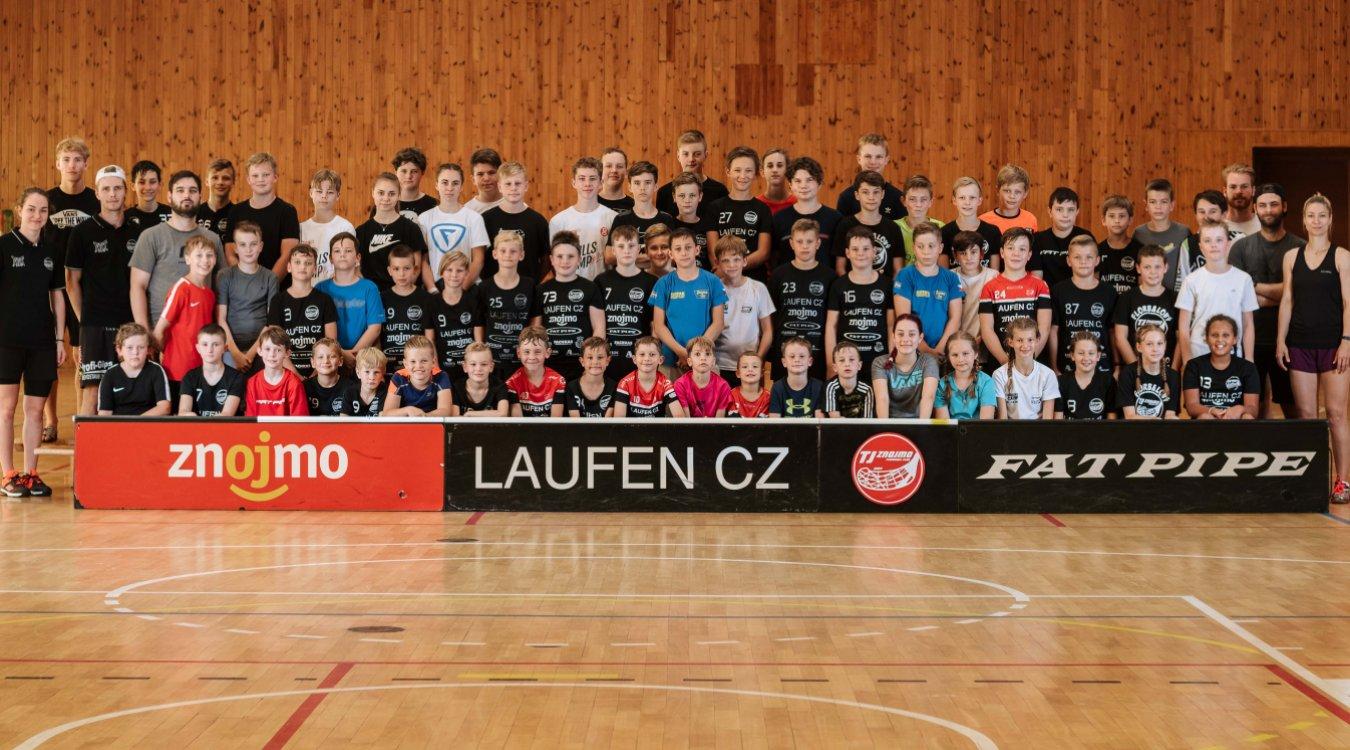 Rekordní Letní florbalový kemp! Pestrého programu se zúčastnilo 66 dětí.