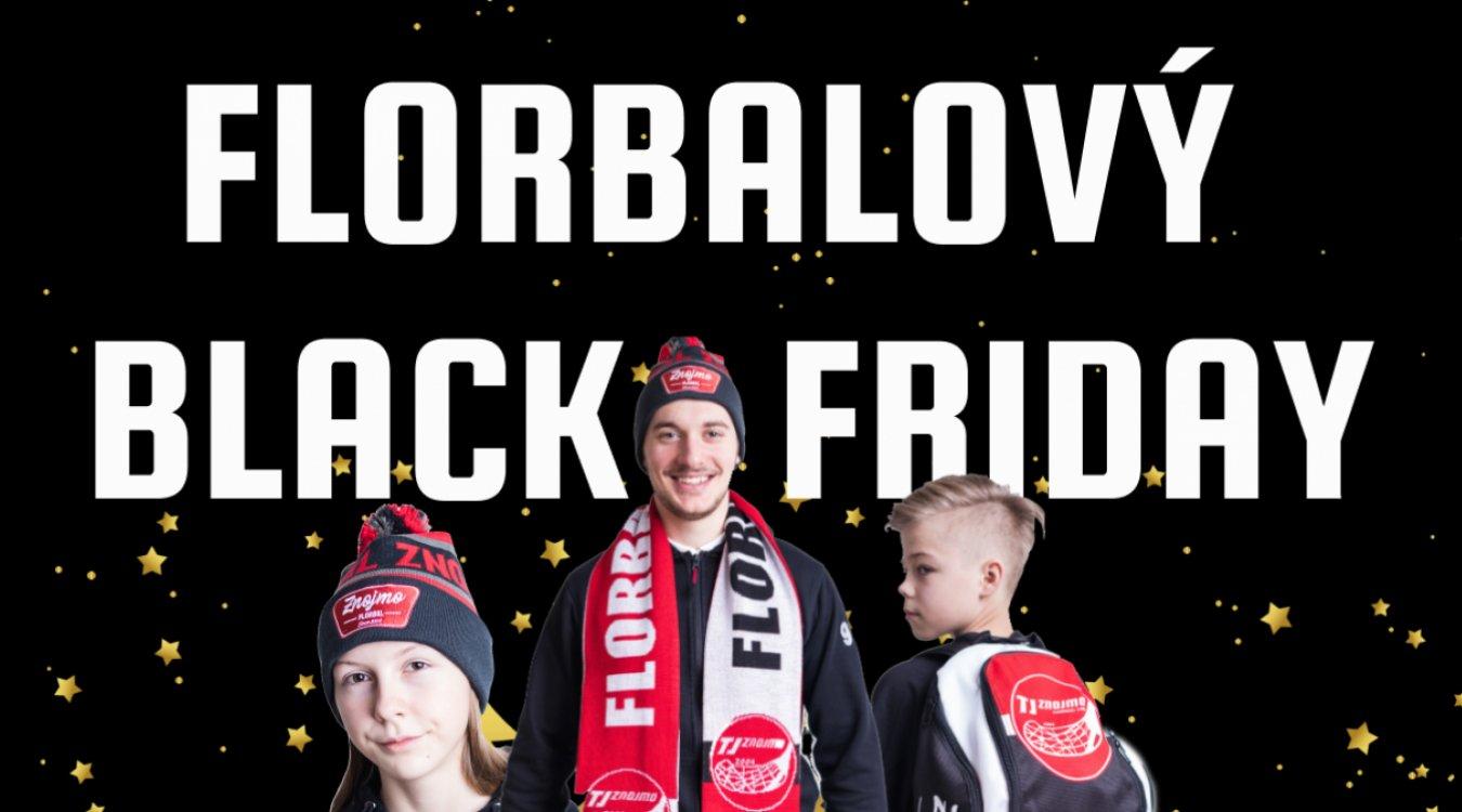 Florbalový Black Friday už příští pátek!