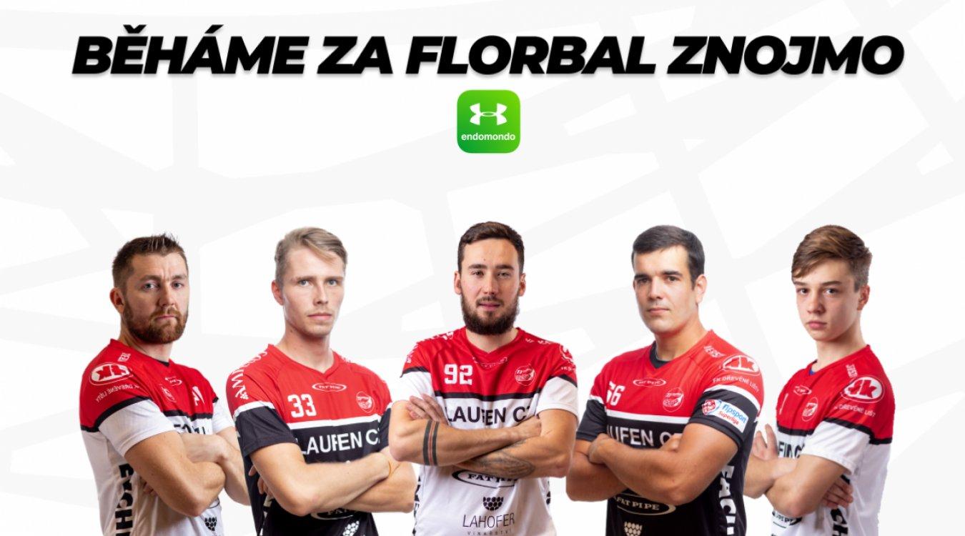 Florbal Znojmo naběhal v listopadu 6498 km! Výtěžek věnuje centru Kruh Znojmo.