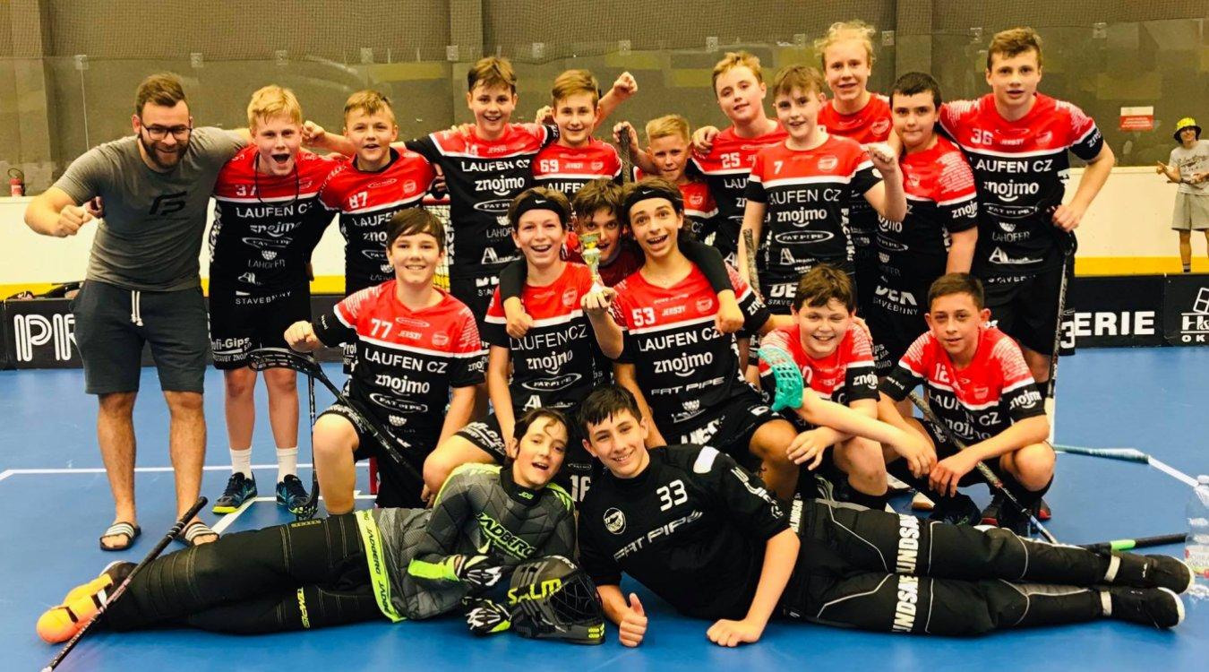 Tři mládežnické týmy sehrály turnaj v Praze na Chodově